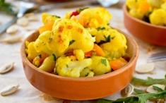 Curry de chou-fleur et de potiron