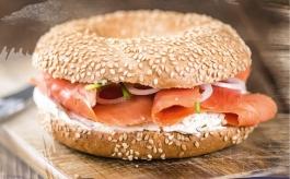 Bagel saumon