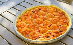Tarte fine à l'abricot
