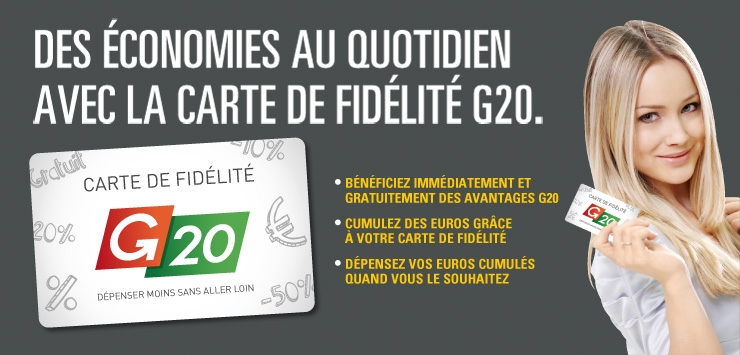 La carte G20